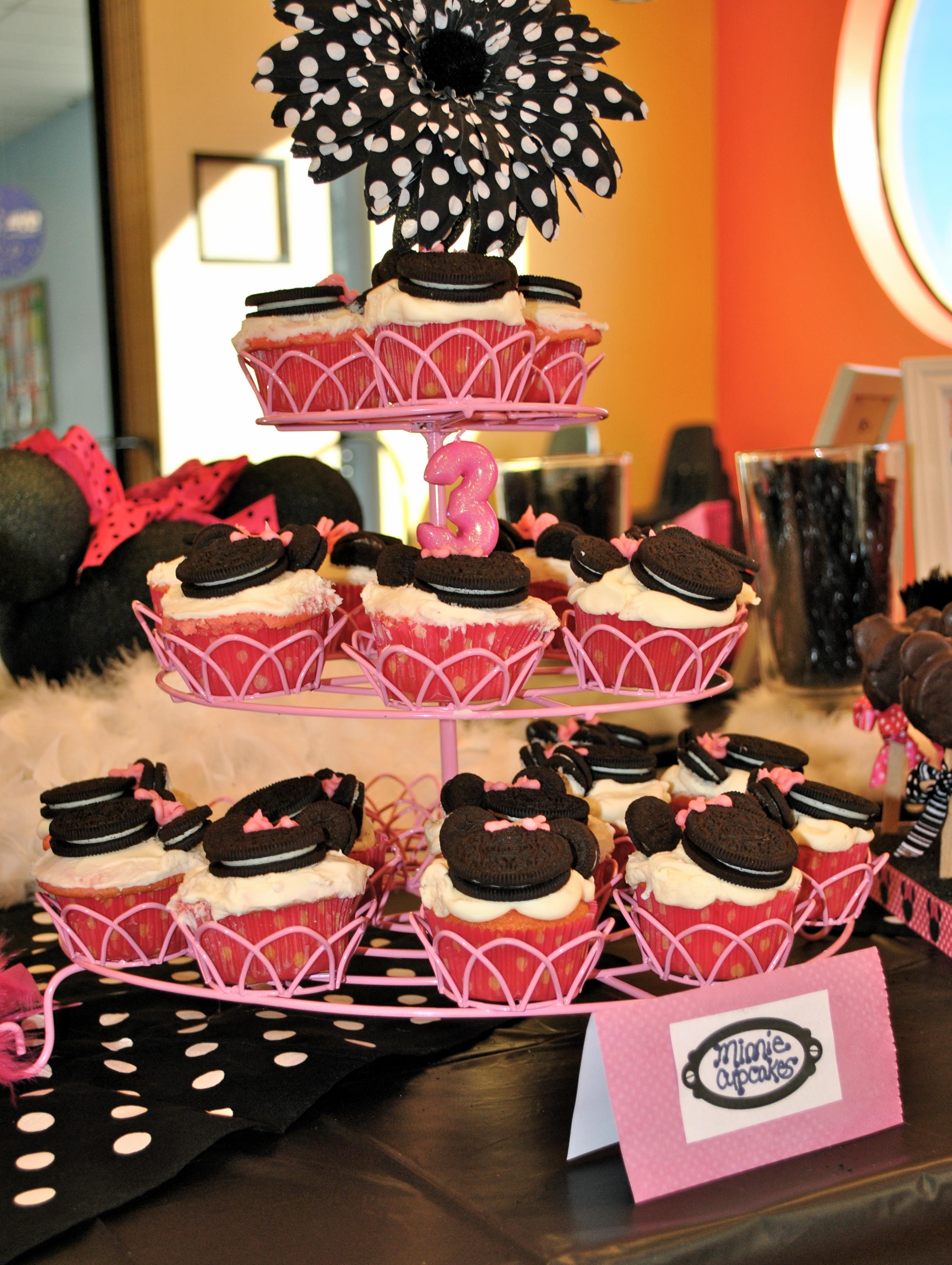 Dsc Diy Minnie Mouse Cupcakes