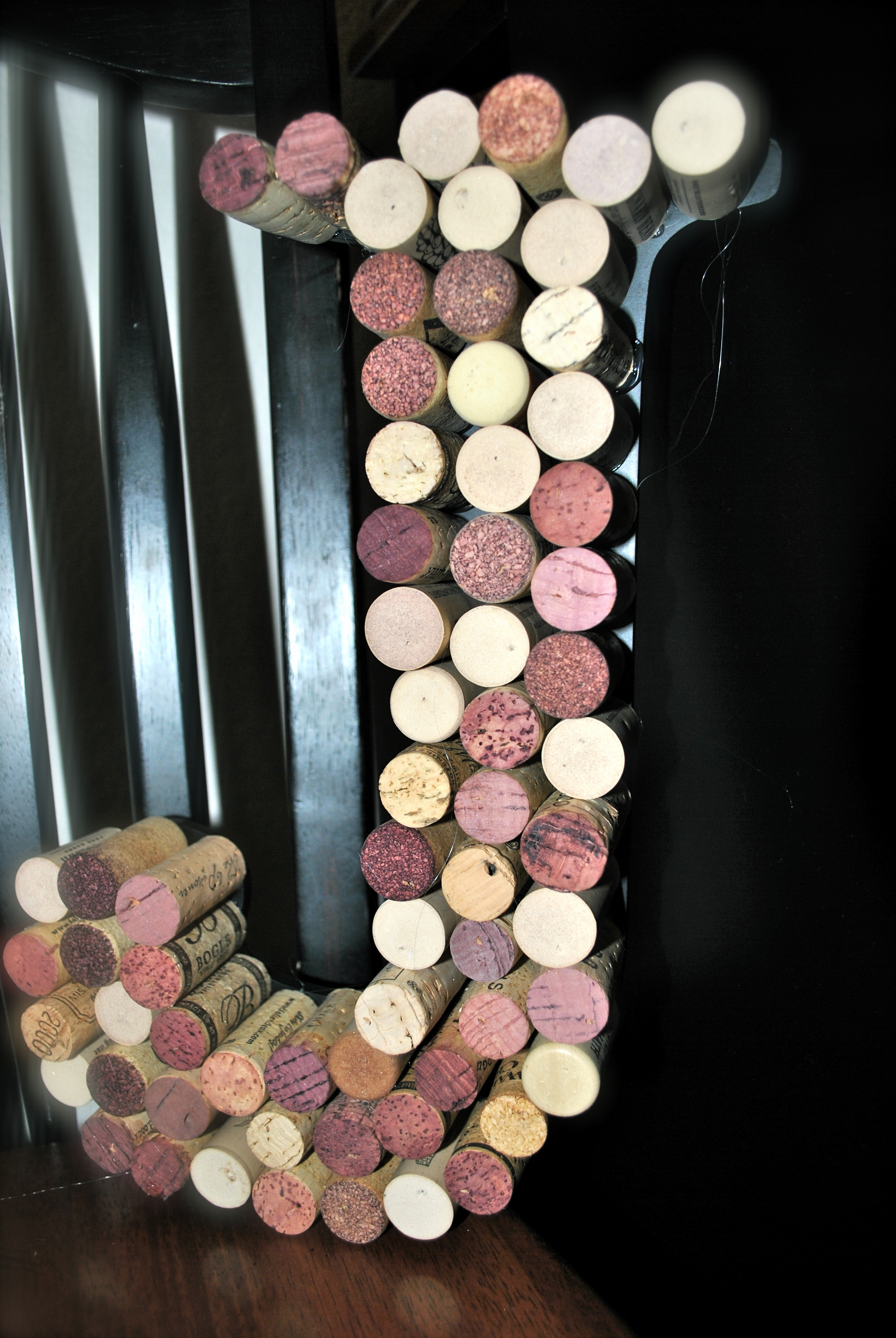 project day 100 get crafty wine cork monogram letterdiyrepurpose difficulty rating 1easiest 5 way too hard 2 just a bit time consuming trying
