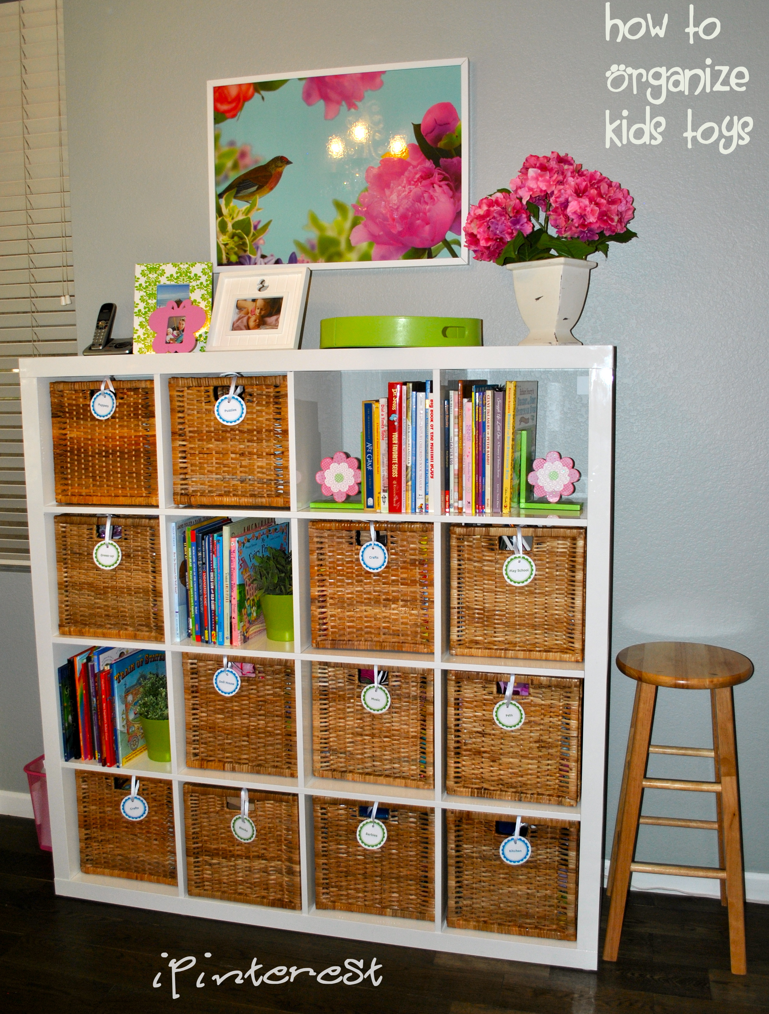 Tidy it Thursday How to Organize Kids Toys